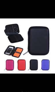Earphone Headphone Sd Tf Card USB Case Storage Bag
