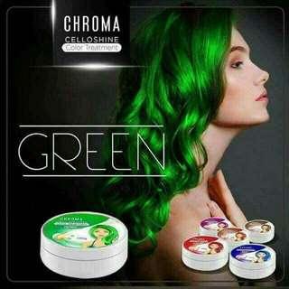 Chroma celloshine hair color