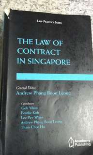 Contract Law Andrew Phang