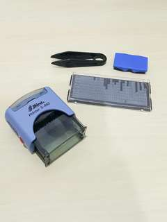 Shiny S-882 DIY Self-Inking Printing Kit