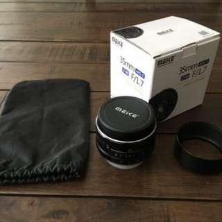 Meike 35mm 1.7 prime lens for fuji x mount