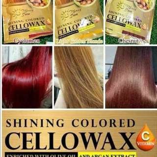 CELLOWAX HAIR COLOR TREATMENT