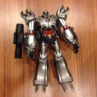 Transformers Prime Megatron Custom G1 Colours Metallic Voyager