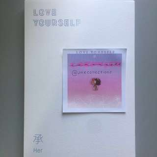 BTS Love Yourself 'her' Unsealed Album