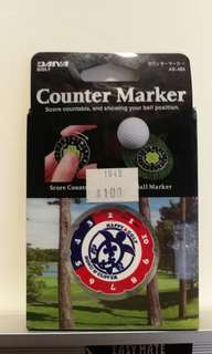 Golf counter marker