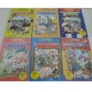 Treasure Hunting Children Comics