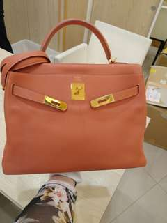 Hermes kelly 32 flamingo
