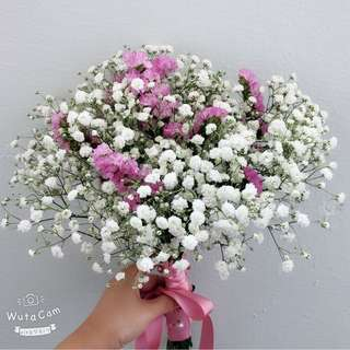Babybreath bouquet
