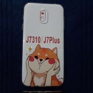 Samsung J7+ Jelly Case