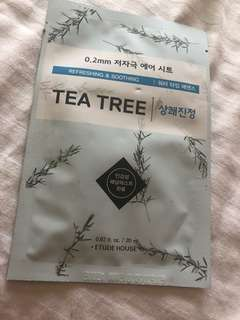 Etude House Tea Tree Face Mask