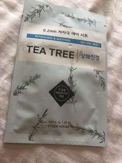 Etude House Tea Tree Face Mask