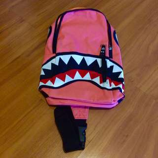 PINK SMALL MONSTER BACKPACK