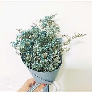 Babybreath flower bouquet