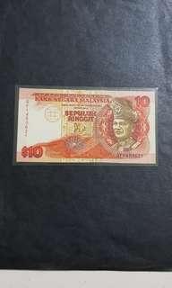 第6版馬币 $10