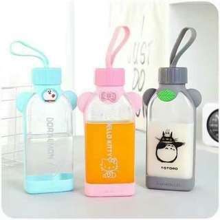 Cartoon Glass Bottle
