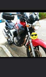 Yamaha YBR 250 coi.