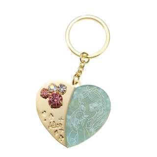 Japan Disneystore Disney Store Alice in Wonderland Heart Charming Keychain