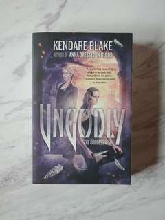 Ungodly by Kendare Blake (Book)