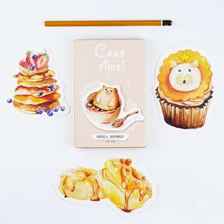 (PO) Desserts Postcards/ Post Cards