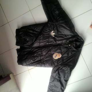 Jaket+Kupluk (kepala) Winter Real Madrid