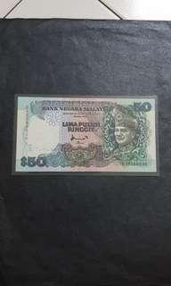 第7版马币$50