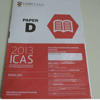 UNSW Australia ICAS Paper D Primary 5 English Year 2013