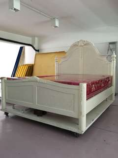White King Bed Frame