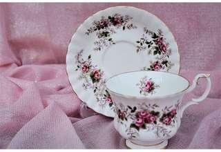 Royal Albert Lavender Rose duo
