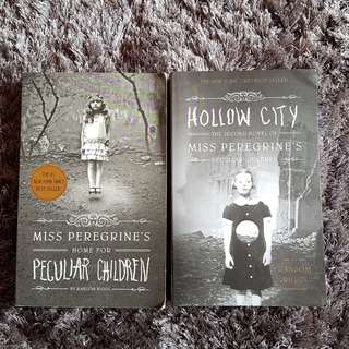 Miss Peregrine's Home for Peculiar Children Hollow City english