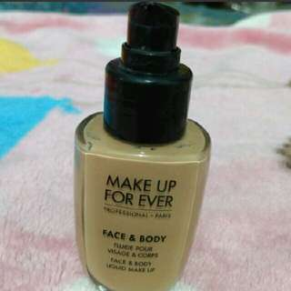 Turun Harga. Make Up For ever Face & Body Share N.20 ( Share Ini Bagus Cocok Netral)