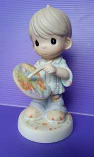You Color Our World With Loving, Caring and Sharing Precious Moments Figurine