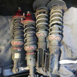 DEKITTED Mitsubishi Lancer cs3 glx coilovers CASH AND CARRY