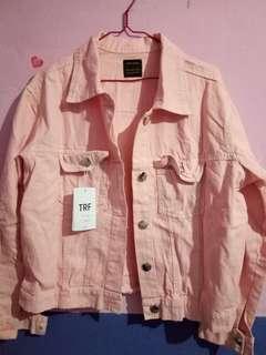 Oversize jacket pink