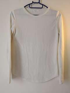 White Top白色簡約上衣(韓國直購)