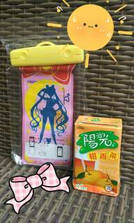 Sailormoon Waterproof Cellphone Protector 美少女戰士防水手機袋