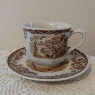 Vintage cup & saucer