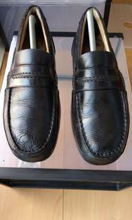 Sperry Black Leather Loafers