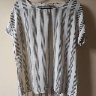 ARIZONA JEANS stripes blouse