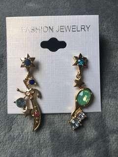 美少女戰士海王星天王星耳環