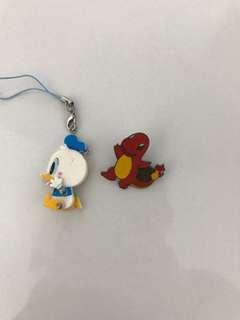 KeyChain Donald & Pokemon