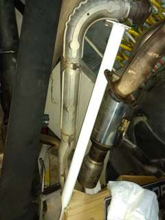 Ultra racing rear boot bar