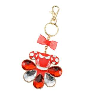 Japan Disneystore Disney Store Minnie Mouse Teardrop Keychain