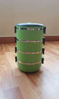 Stainless Steel 4 tier tiffin - lunch box