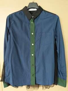 Sacai Luck design shirt