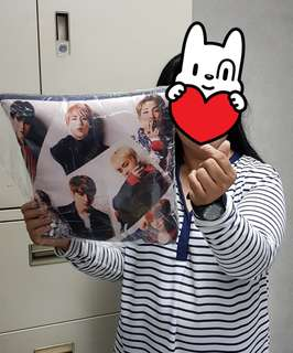 BTS Throw Pillows
