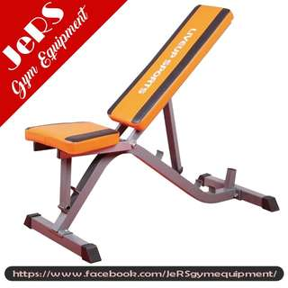 Sit-Up Bench 3 in-1