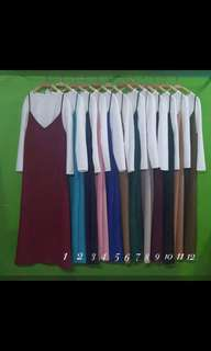 Dress with inner