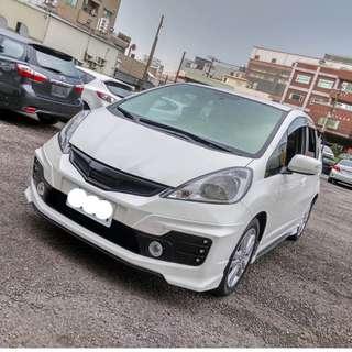 2014年 FIT 白色陽春RS大包定速    大桃園優質二手中古車買賣