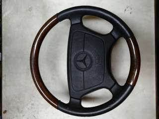 Mercedes 210 - steering wheel