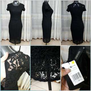 SM Woman Lace Formal Dress